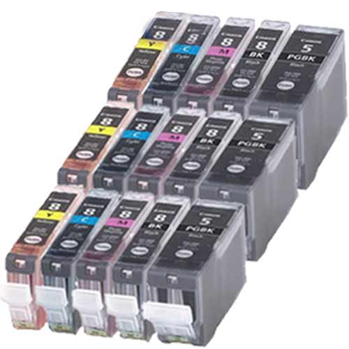 COMPATIBLE-CANON-CLI8-PGI5-PHOTO-SERIES-INK-CARTRIDGES-FOR-PIXMA-INKJET-PRINTERS