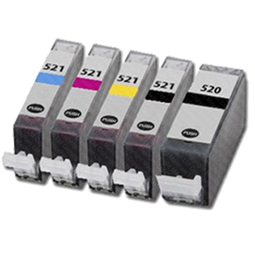 COMPATIBLE-CANON-CLI-521-PGI-520-SERIES-INK-CARTRIDGES-FOR-PIXMA-INKJET-PRINTERS